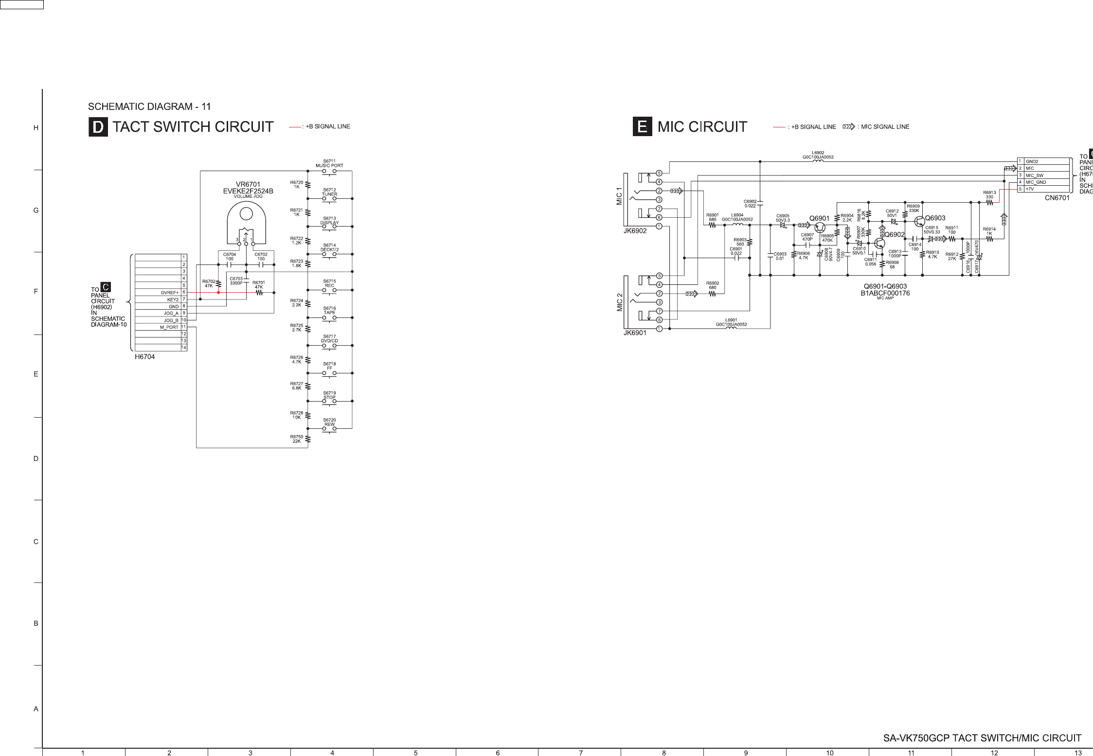 Tact Switch Wiring Diagram