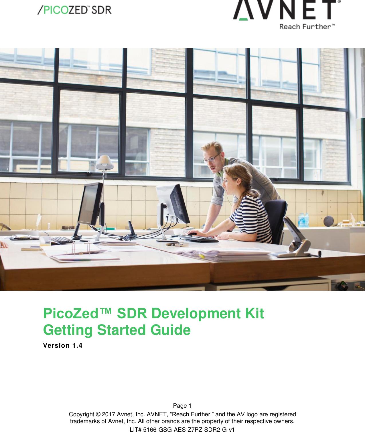 PicoZed™ SDR Development Kit Getting Started Guide SDR:FMC Starter