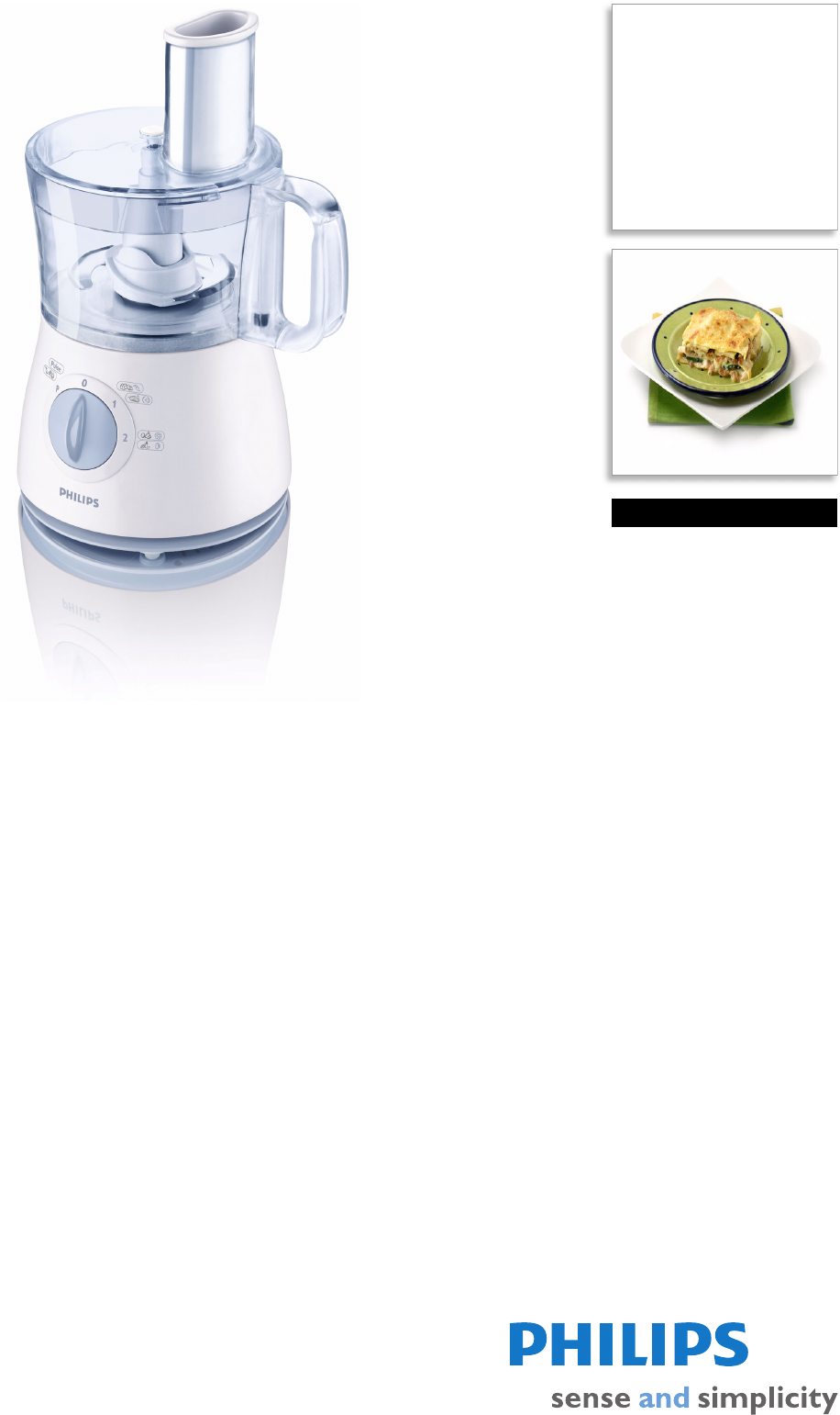 Philips Daily Collection. Food processor. HR7620