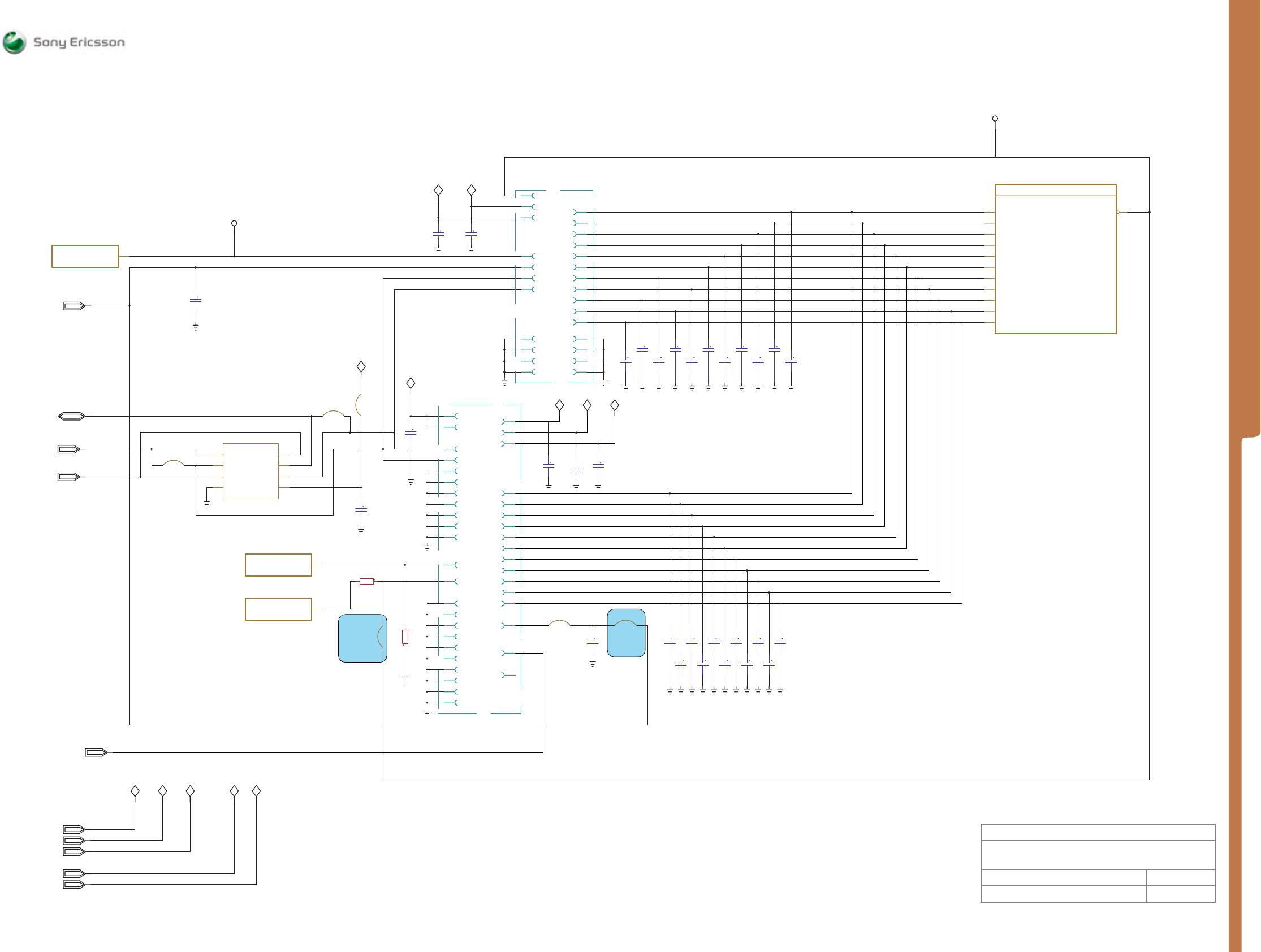 Sony Ericsson C702 1 Xperia M Circuit Diagram