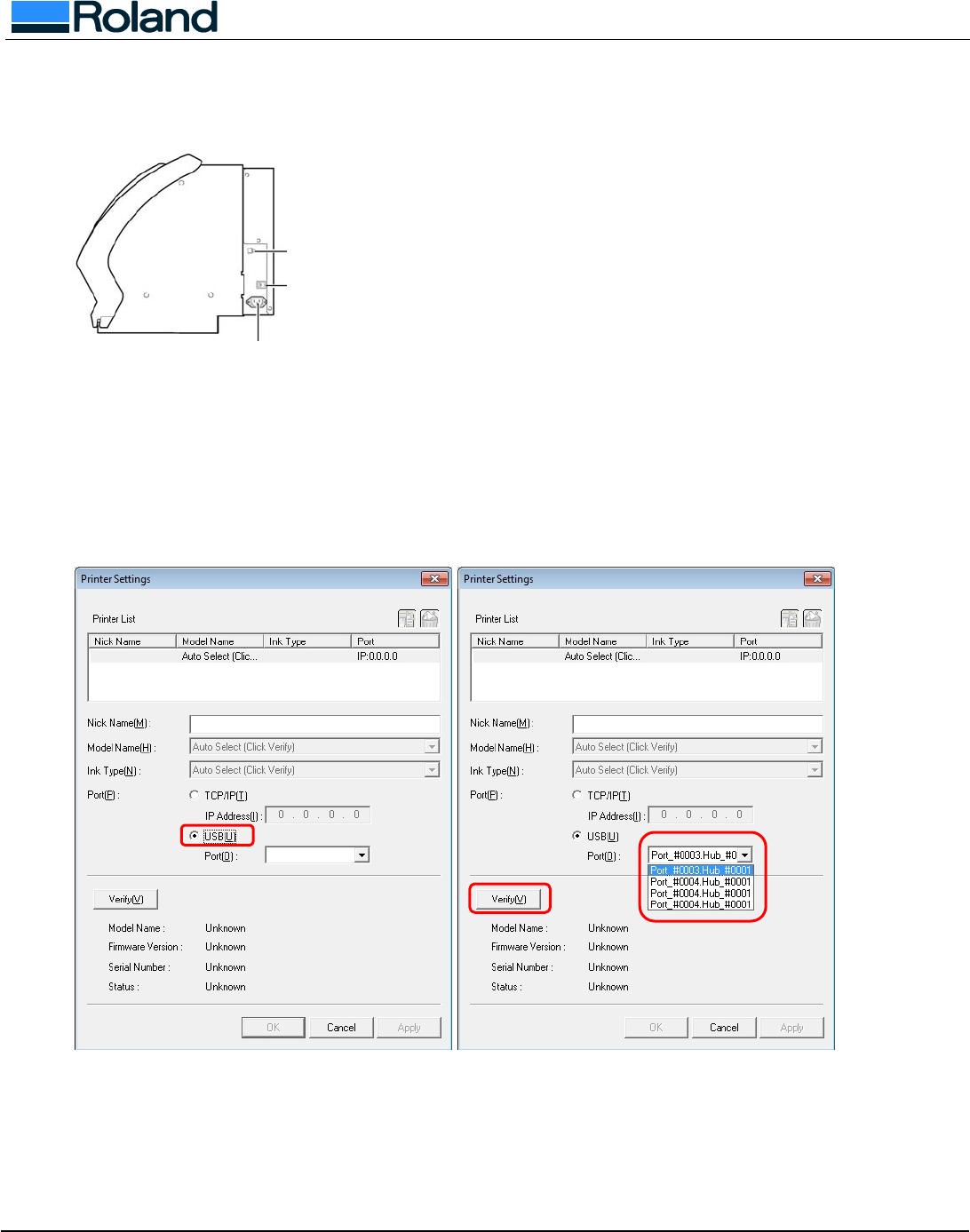Usign SP 300/V With VersaWorks On Windows 7/Vista 300
