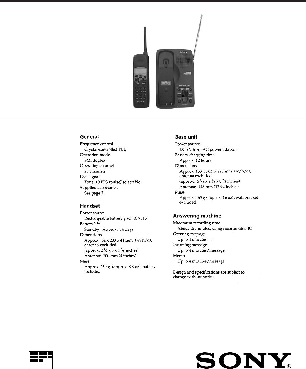 Sppa700 Crystalcontrolledfm