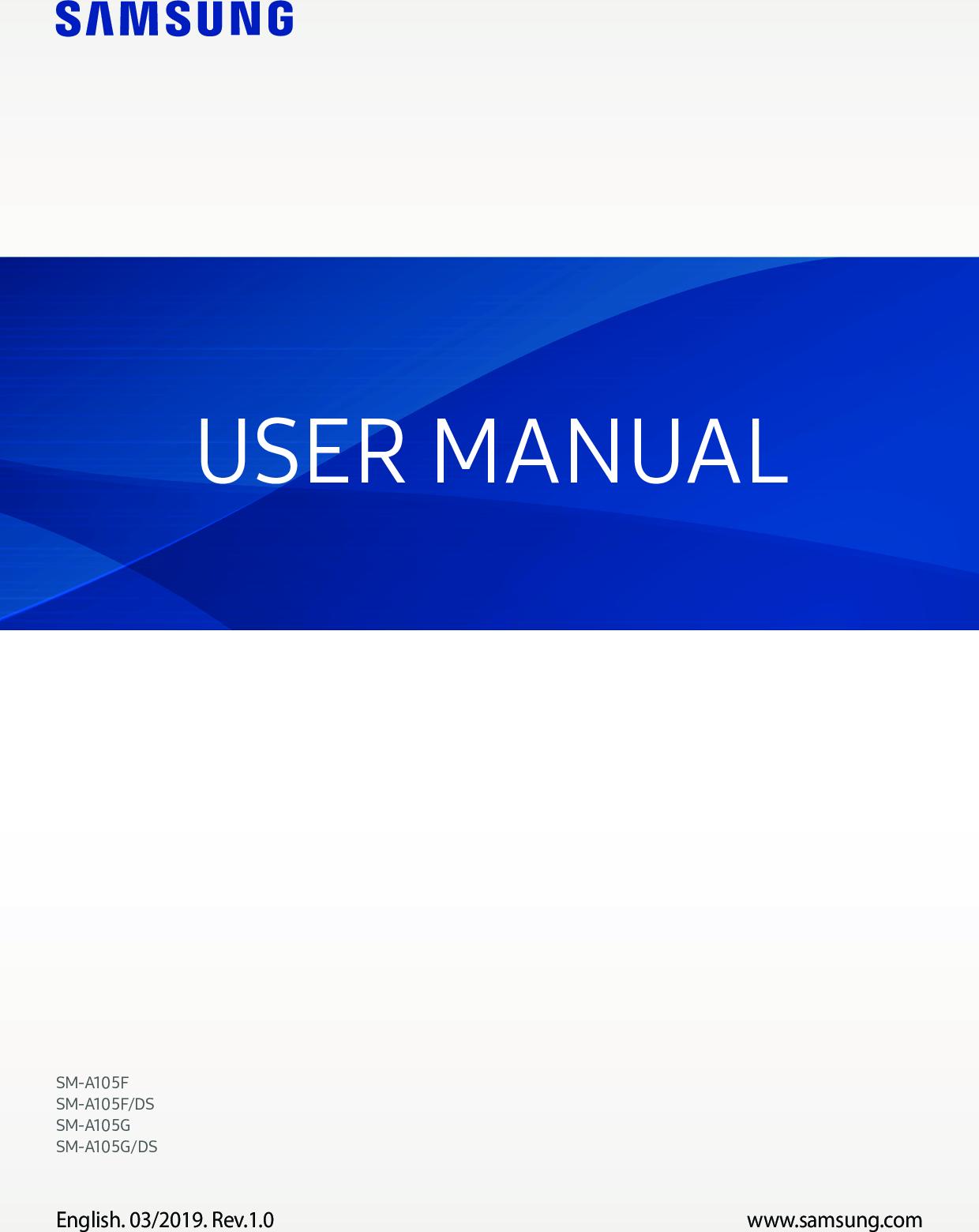 Samsung Galaxy A10 User Manual Pdf Guide Download Manual Guide