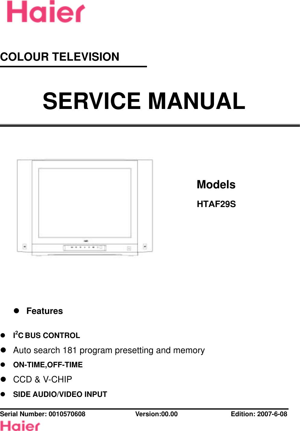 Service Manual Htaf29s Pal Decoder Block Diagram