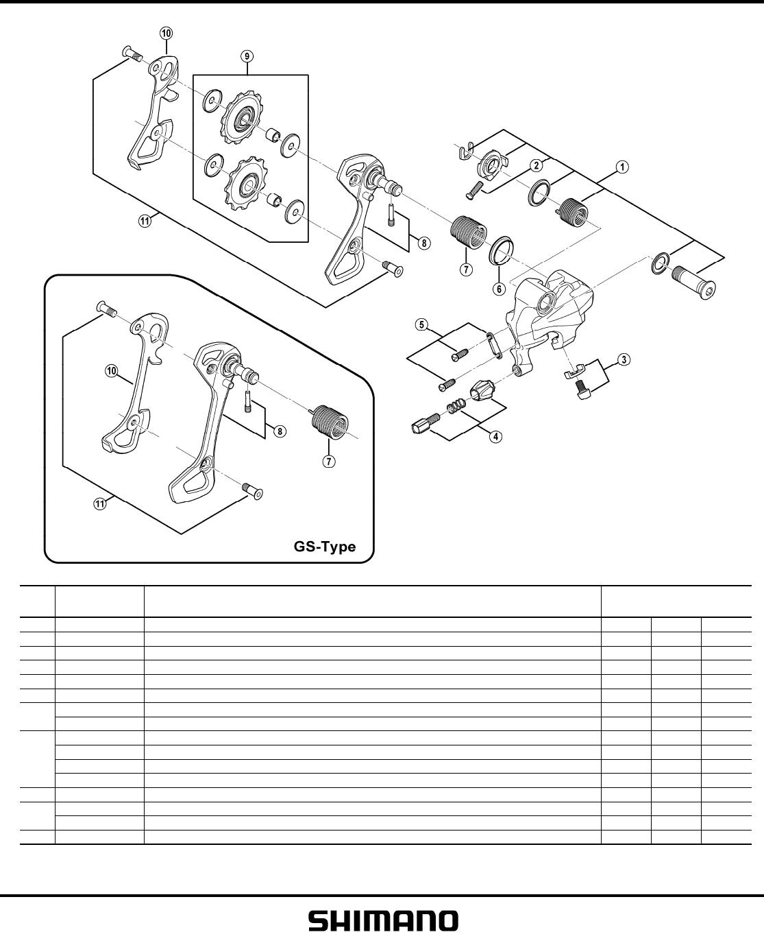 5xn0 00 Eng Shimano 105 5700 Rear Derailleur Installation
