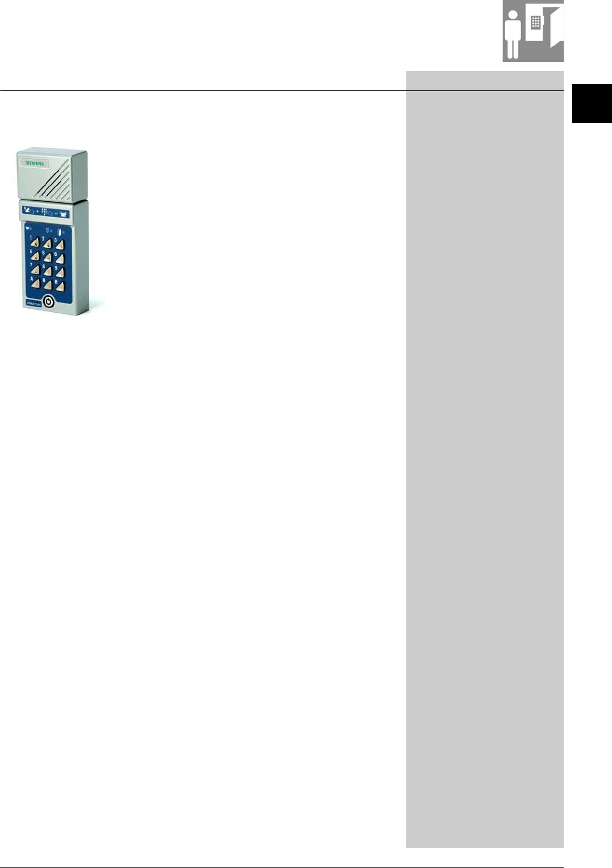 ENTRY PHONE BEWACOM DOOR-1 BUTTON