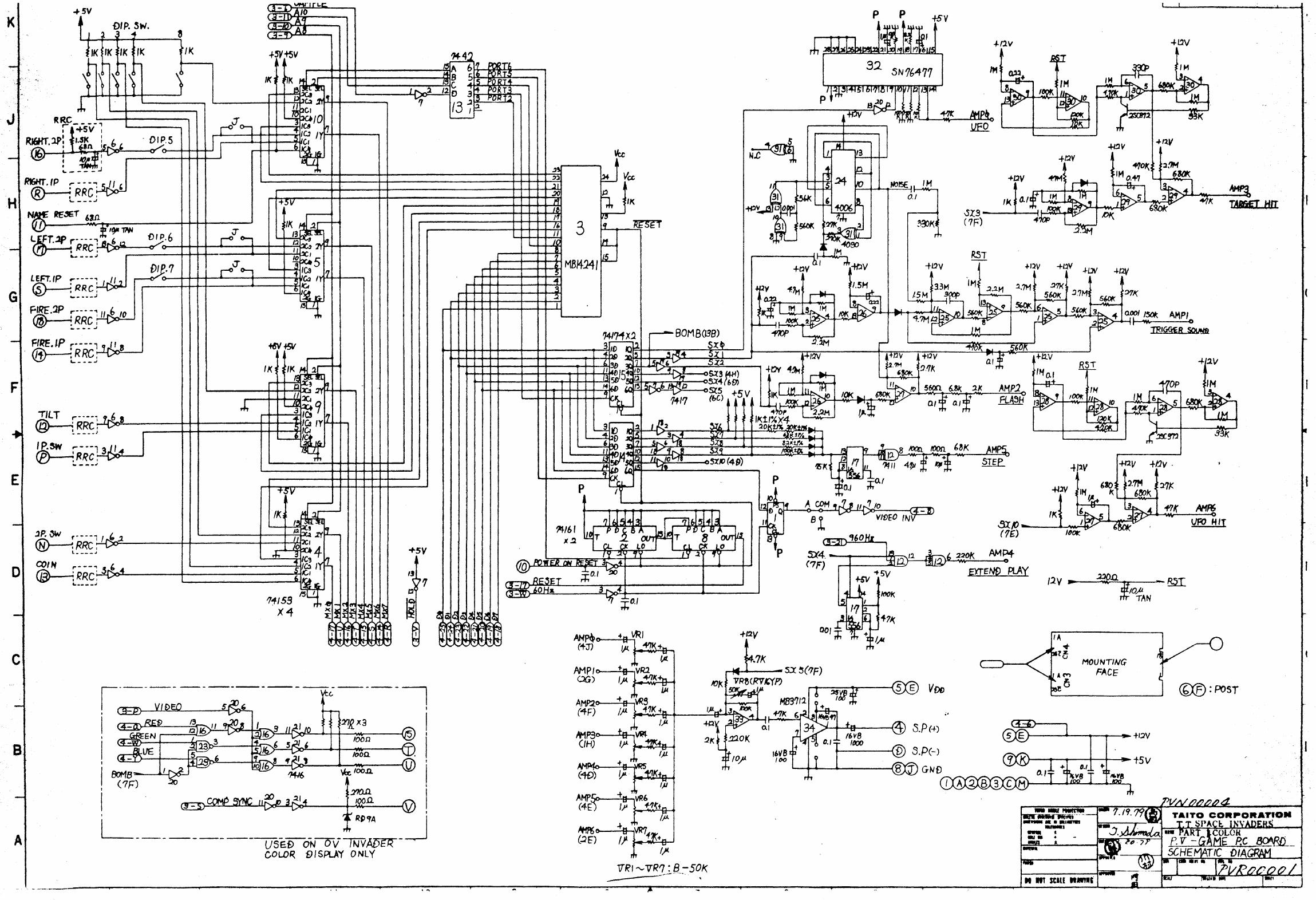 Space Schematics - Wiring Diagrams on