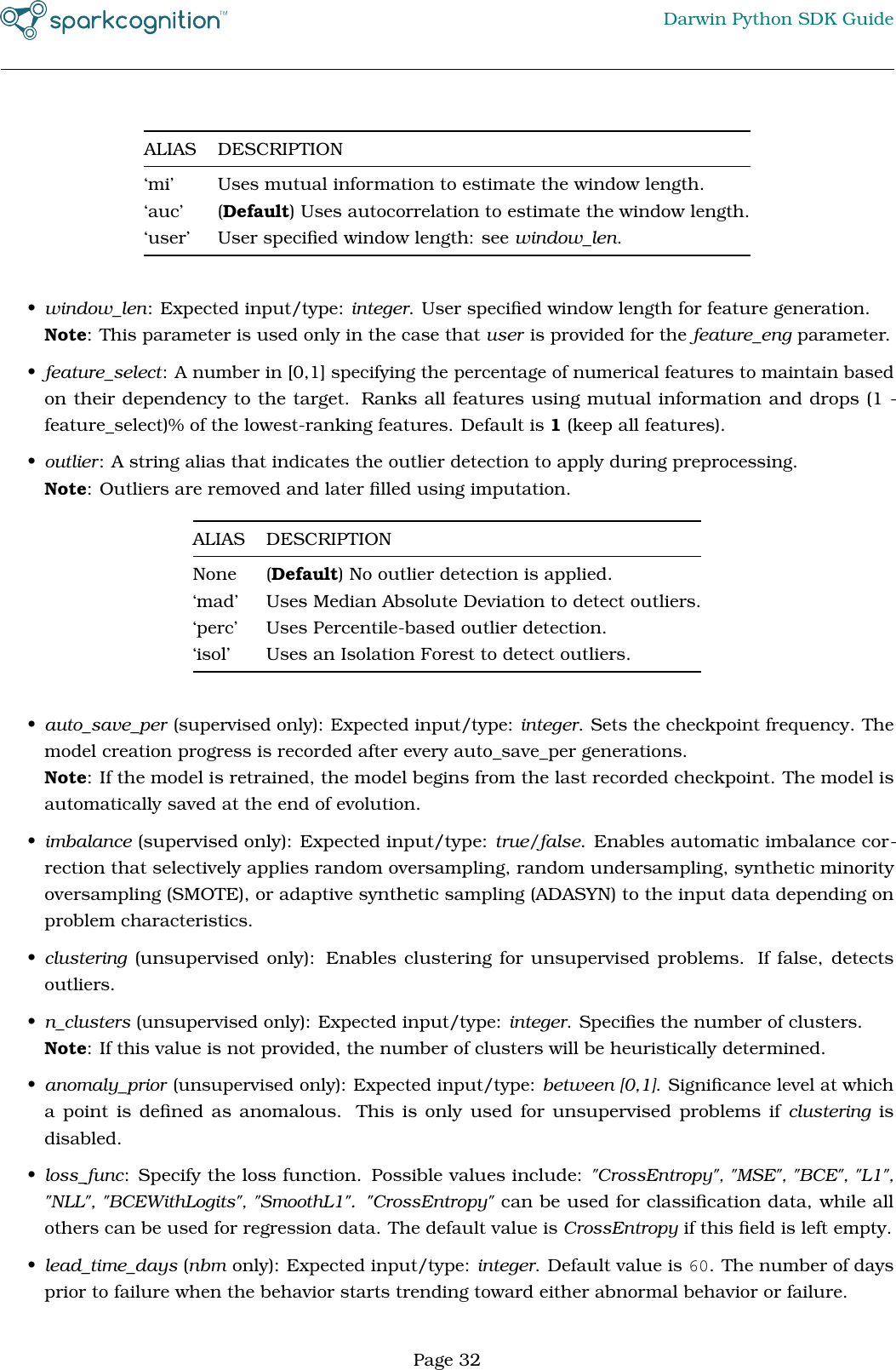 SparkCognition Darwin Python SDK Guide Spark Cognition V1 5