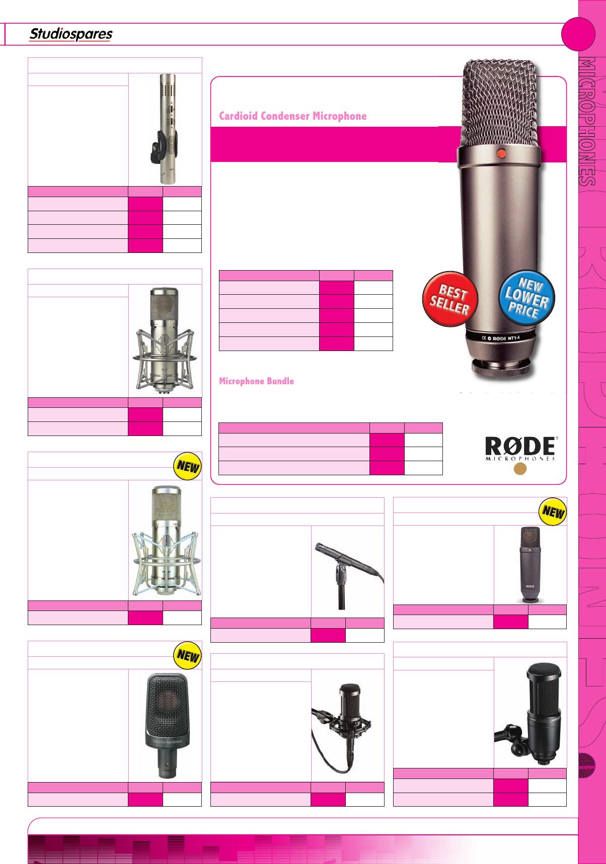 Studiospares Catalogue 2014 Akg C519m Mic Saxophone
