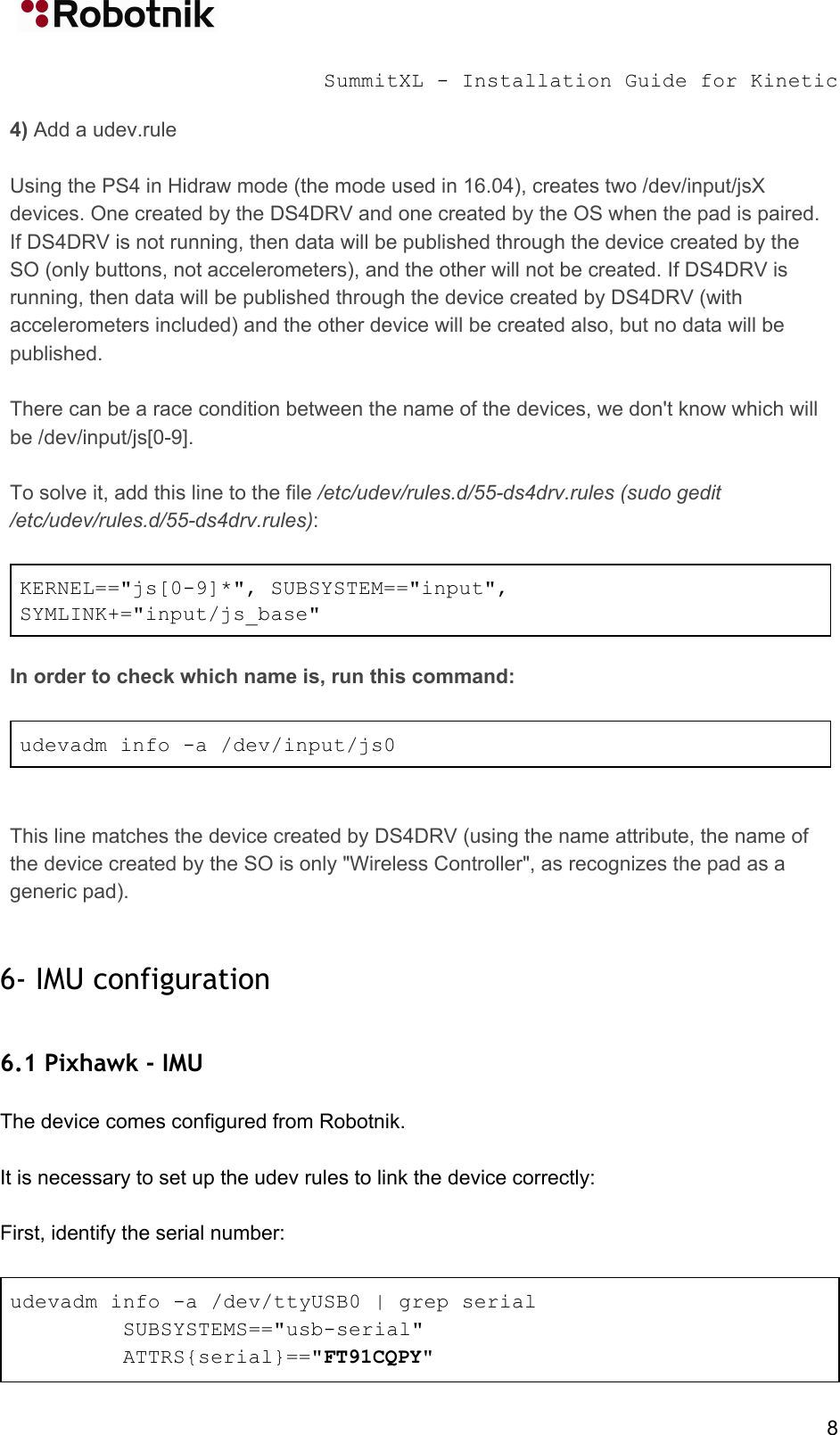 Summit XL Ubuntu16 04 Install Guide