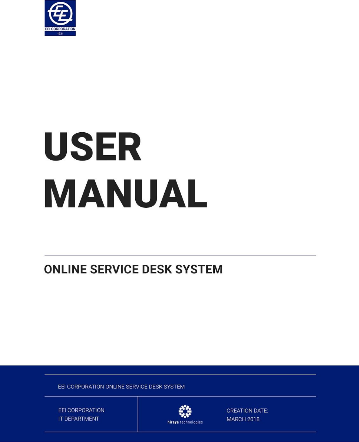 Manageengine servicedesk plus user guide.