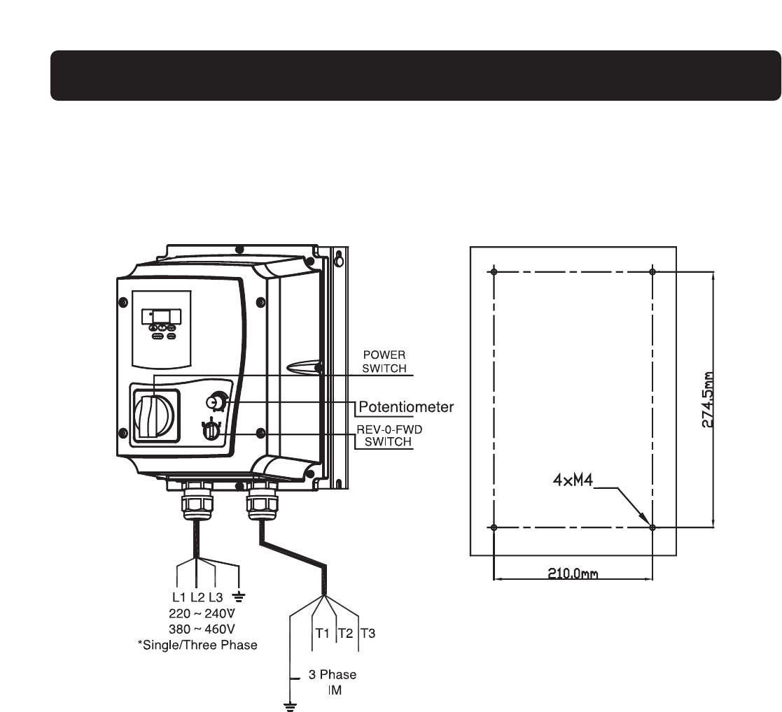 Fm50 Working Teco Manual 380v Single Line Wiring Diagram Installation