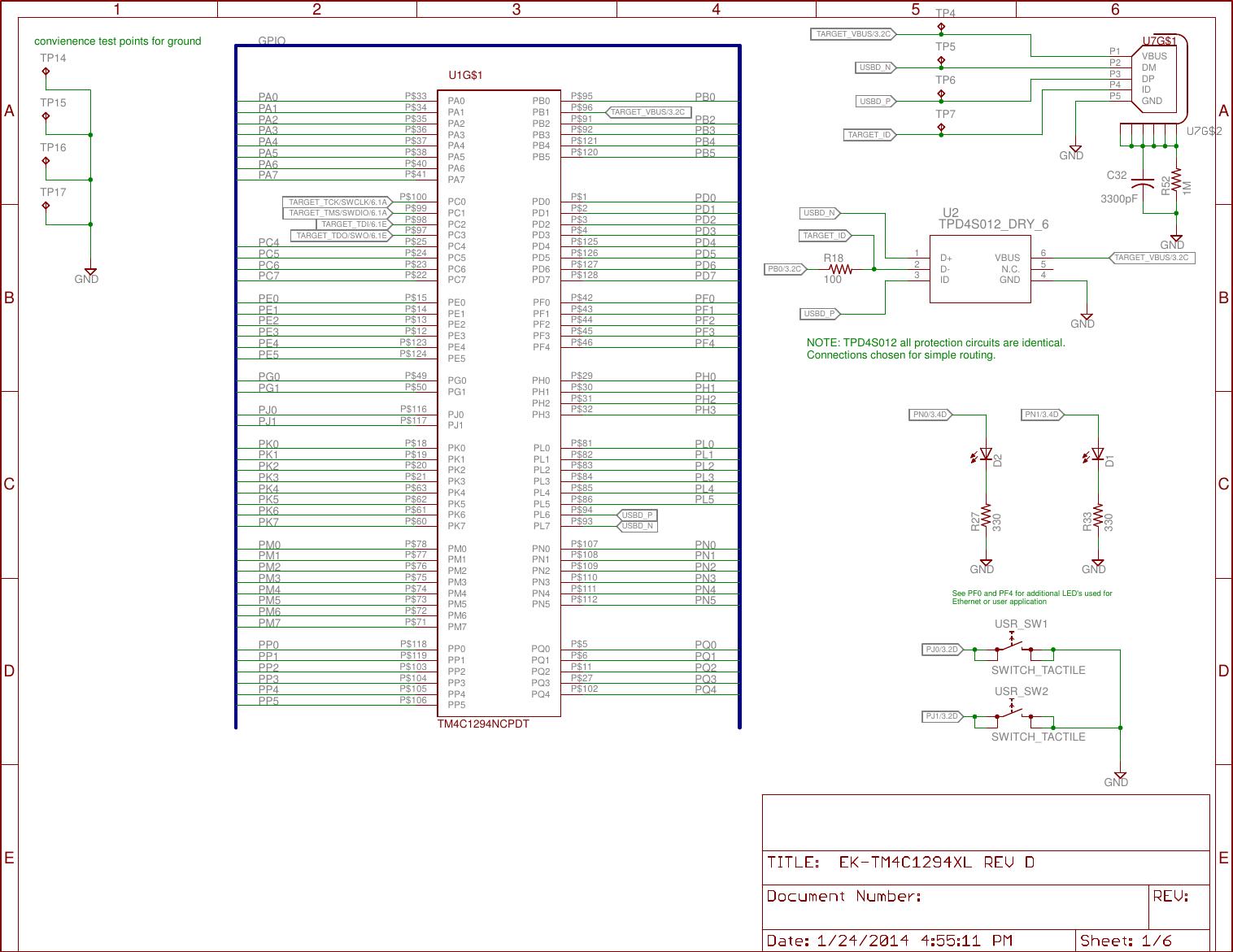Tiva™ C Series TM4C1294 Connected LaunchPad Evaluation Kit (Rev  B