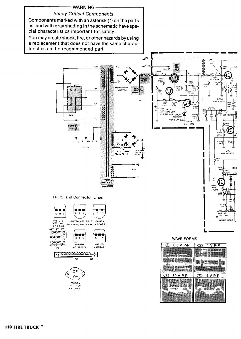Tm600 Manual Fire Truck Schematic 31744
