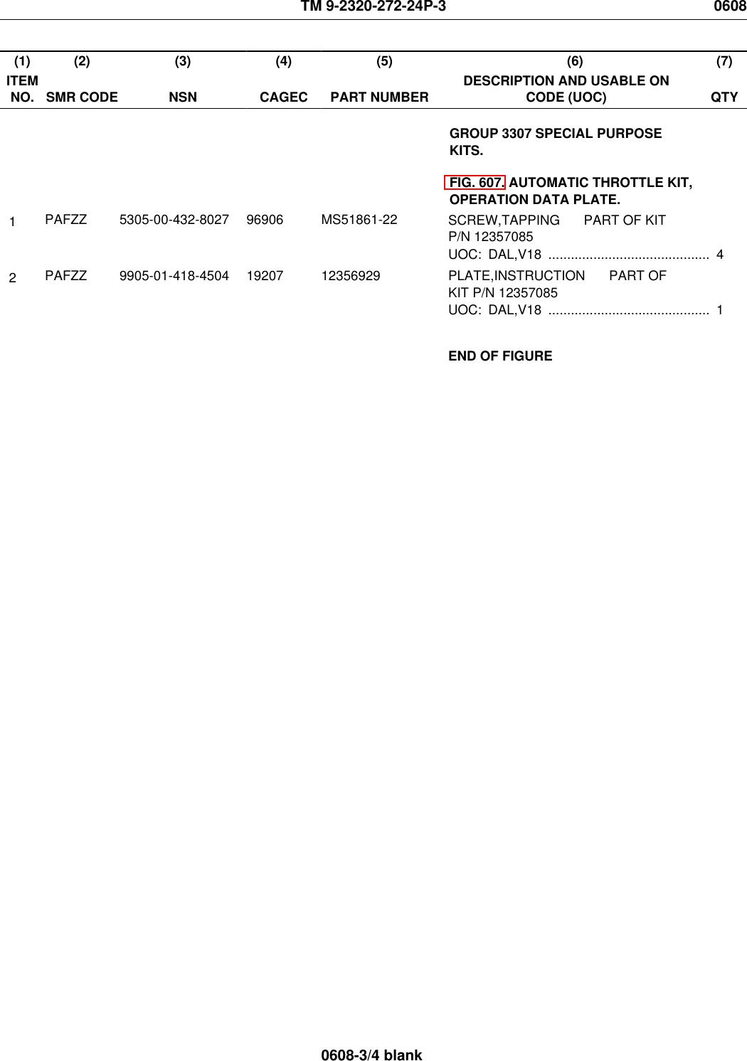 DIESEL MILITARY 12301495 4820-01 M939 SERIES Fuel Tank Check Valve 5-TON 6 X 6