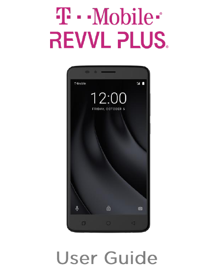 说明书库 T mobile revvl plus manual
