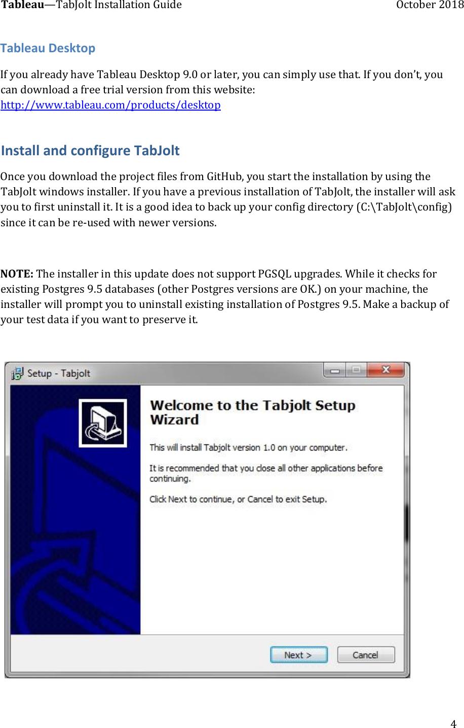Tab Jolt Installation Guide