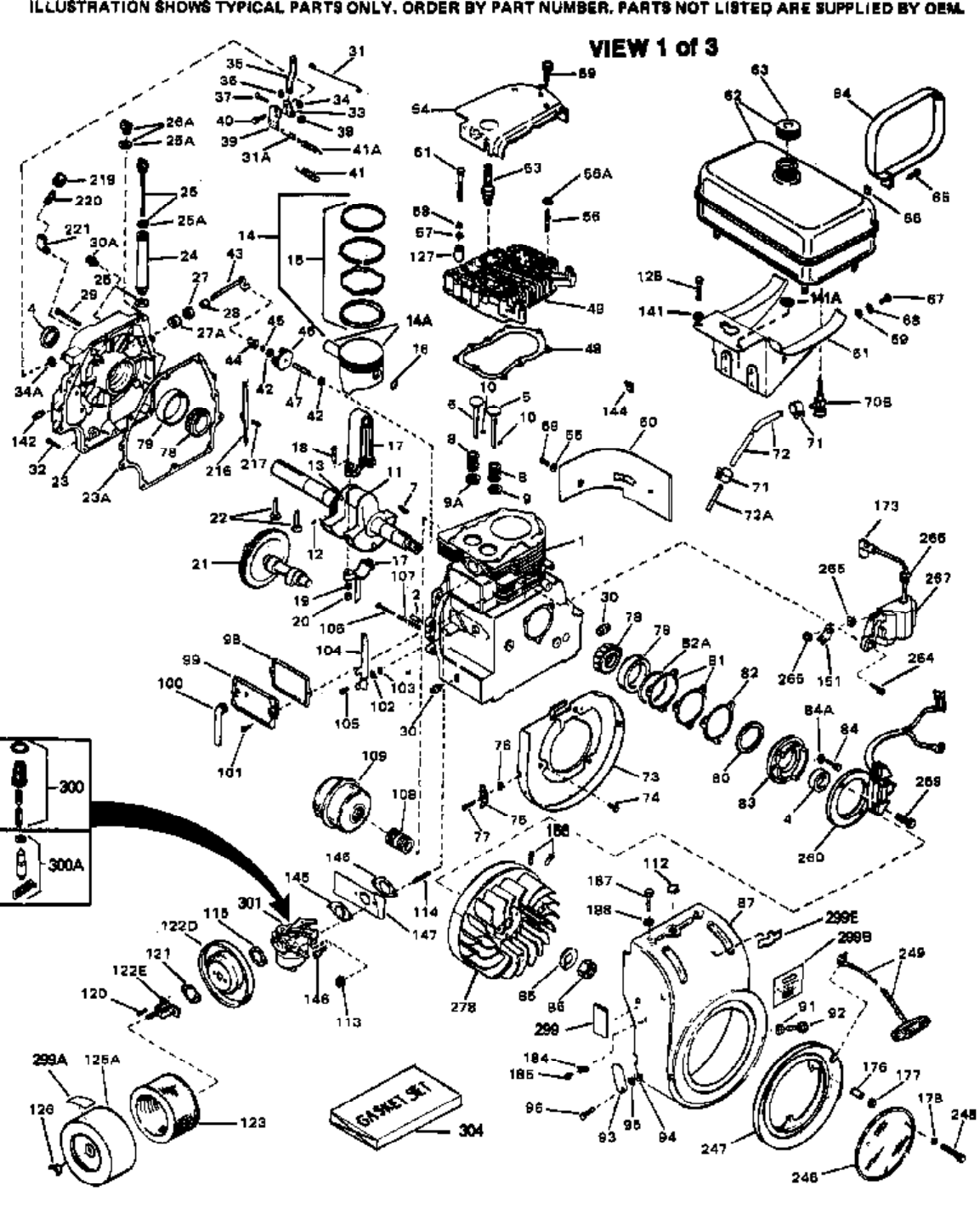 Tecumseh Recoil Starter Assembly Diagram