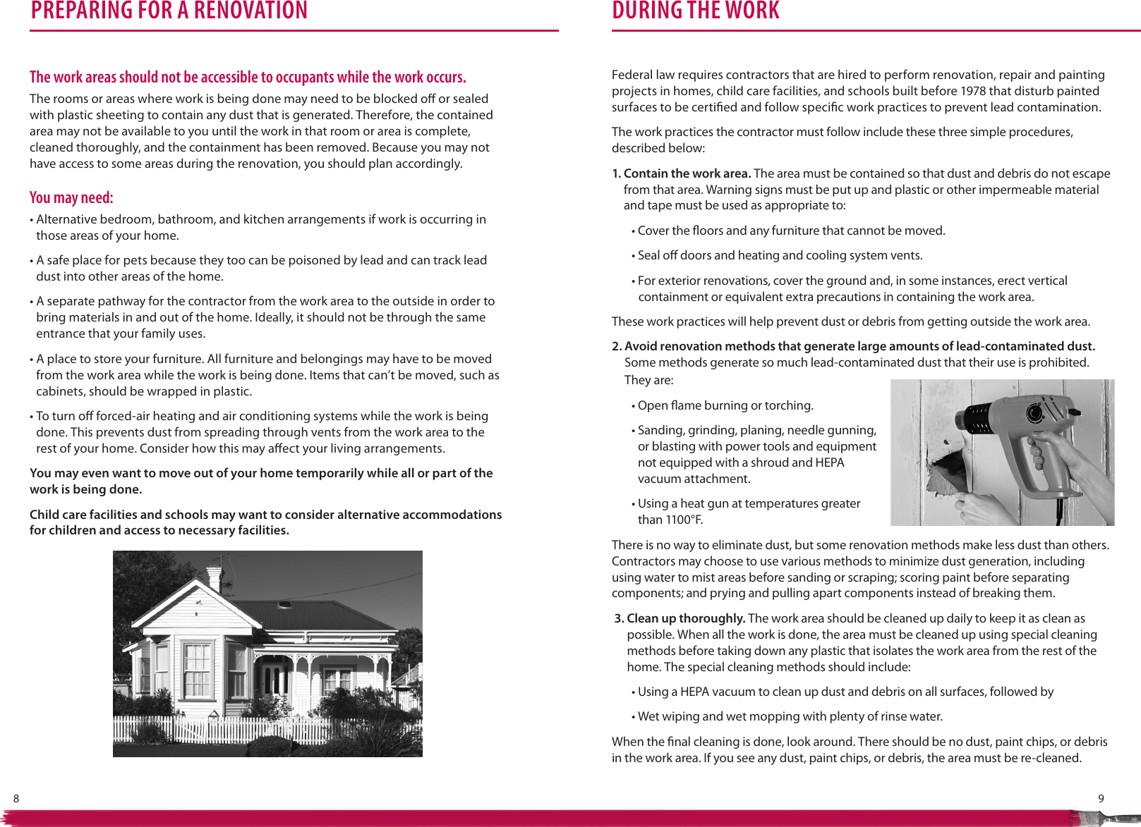 Page 7 of 12 - The Lead-Safe Certified Guide To Renovate Right