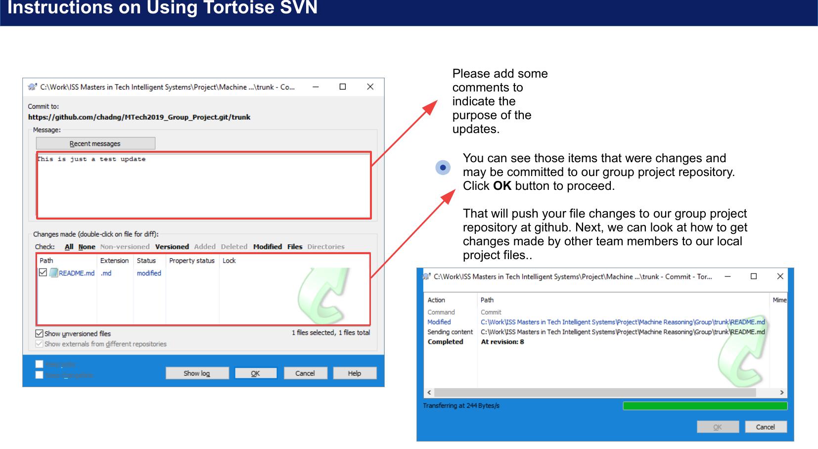 Tortoise SVN Guide