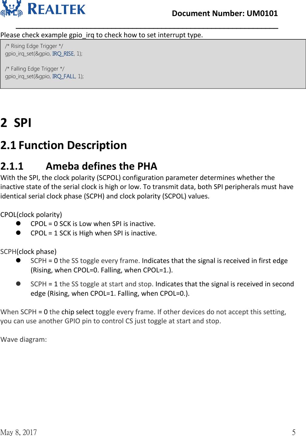 NFC Control UM0101 Realtek Ameba 1 Peripheral Developerment