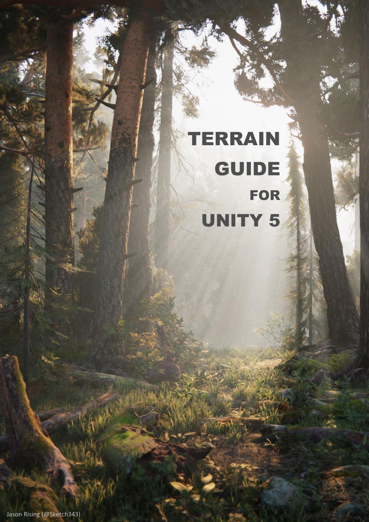 Unity 5 Terrain Guide