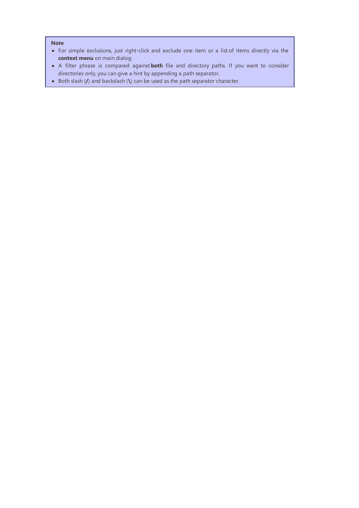 Manual FreeFileSync User