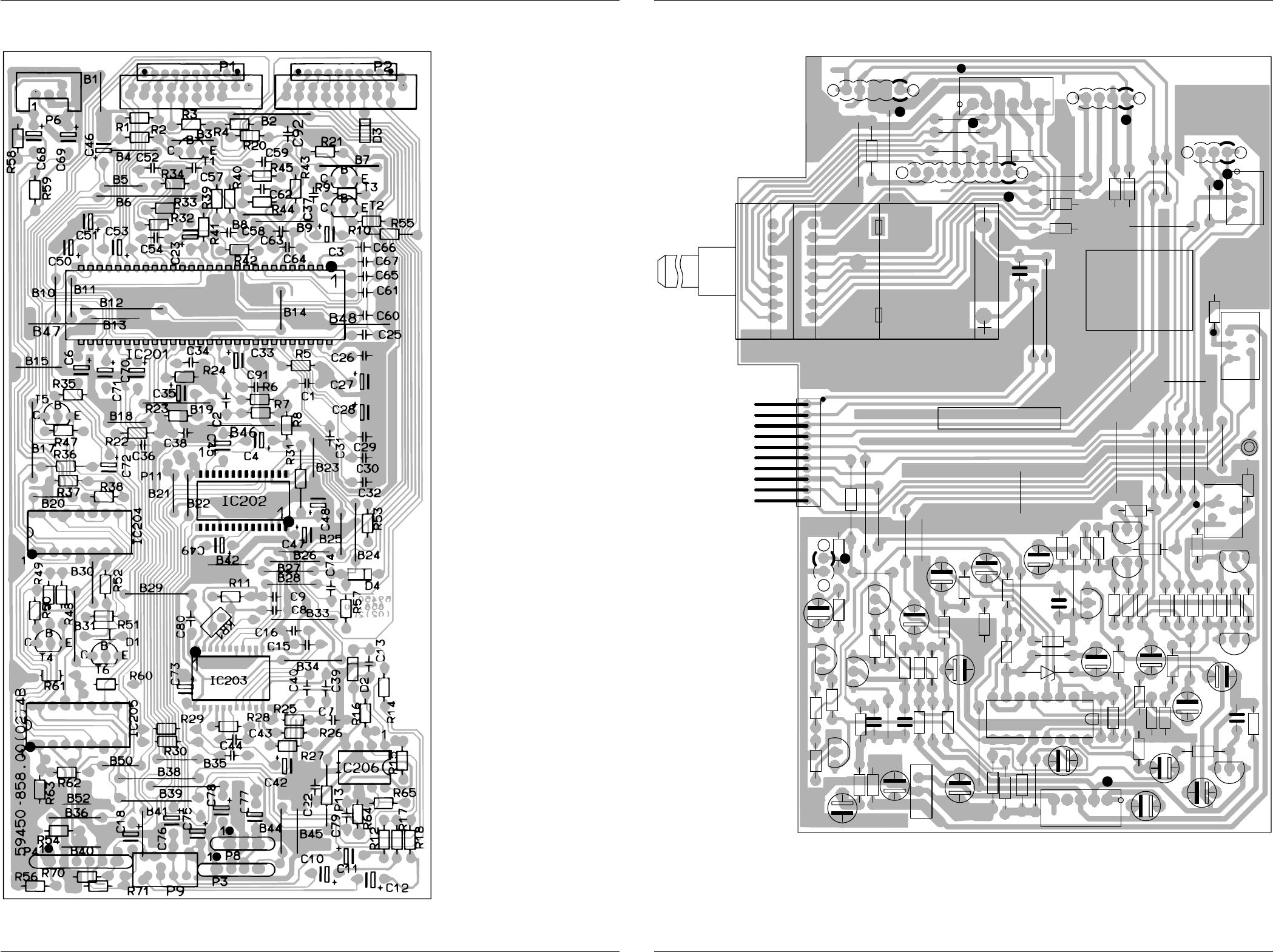 1 16 Titelseiteausbau V14 C61 Wiring Diagram V 14 Dpl Rf Schaltplne Und Druckplattenabbildungen Circuit Diagrams And Layout Of Pcbs