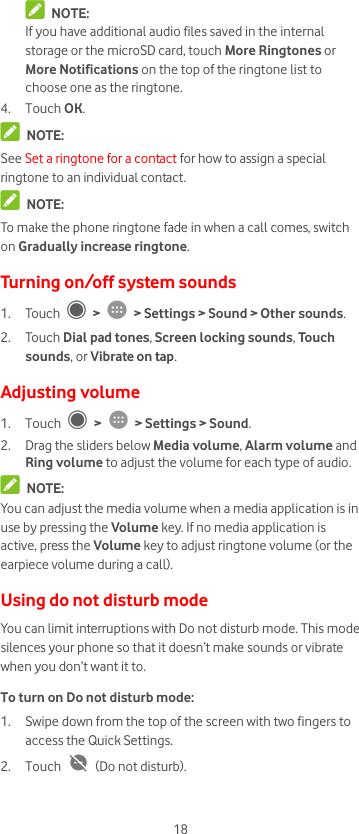 Vodafone Smart V8 Manual VFD 710 User UK