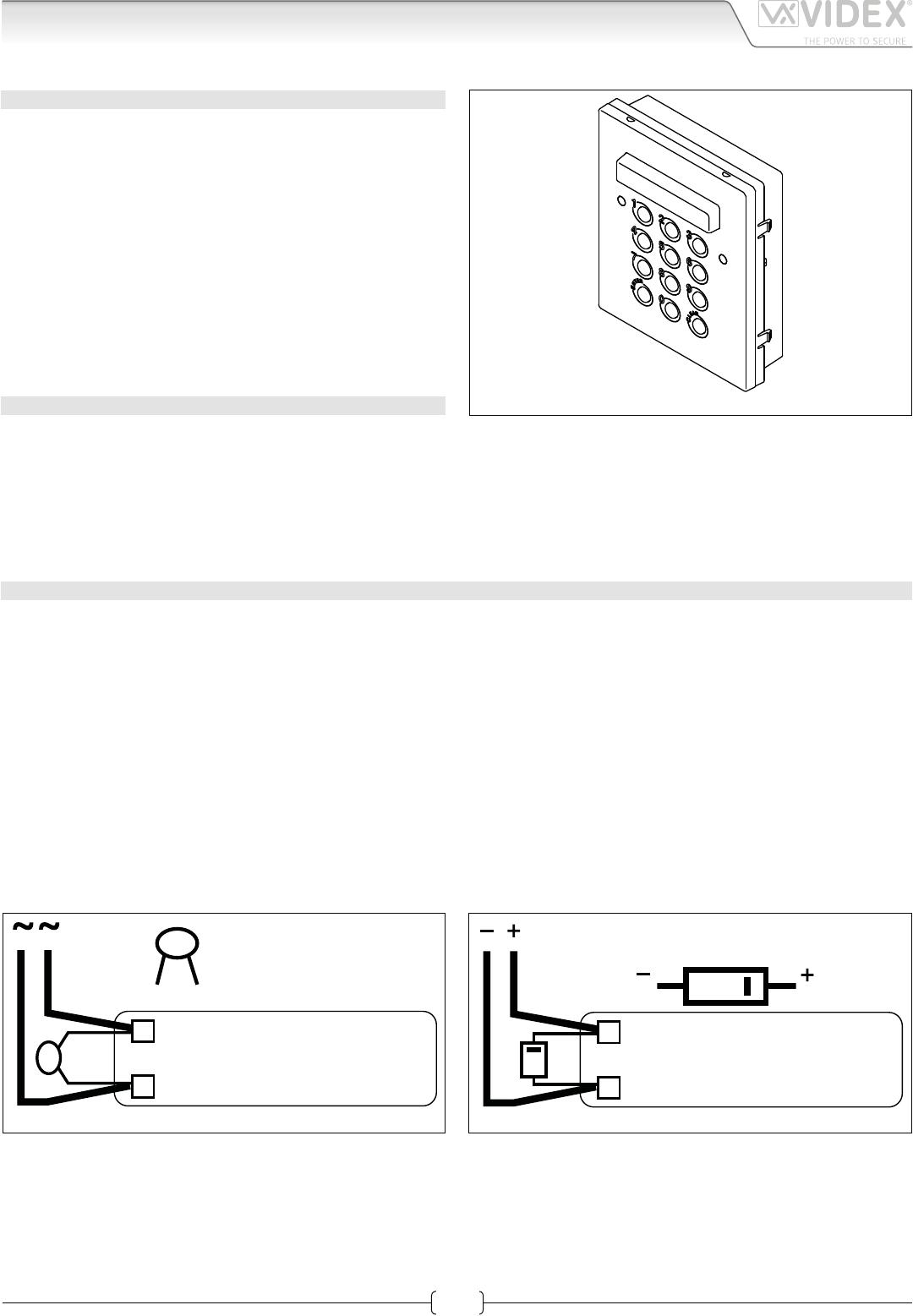 Videx Smart 1 Wiring Diagram Explained Diagrams Vk4k Installation Manual Whirlpool Refrigerator