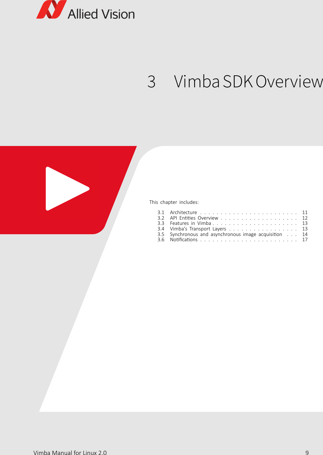 Vimba Manual For Linux