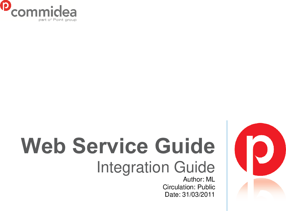Web Services Integration Guide V5 28 May 2011