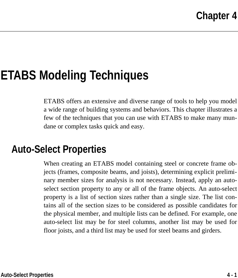 Welcome To ETABS