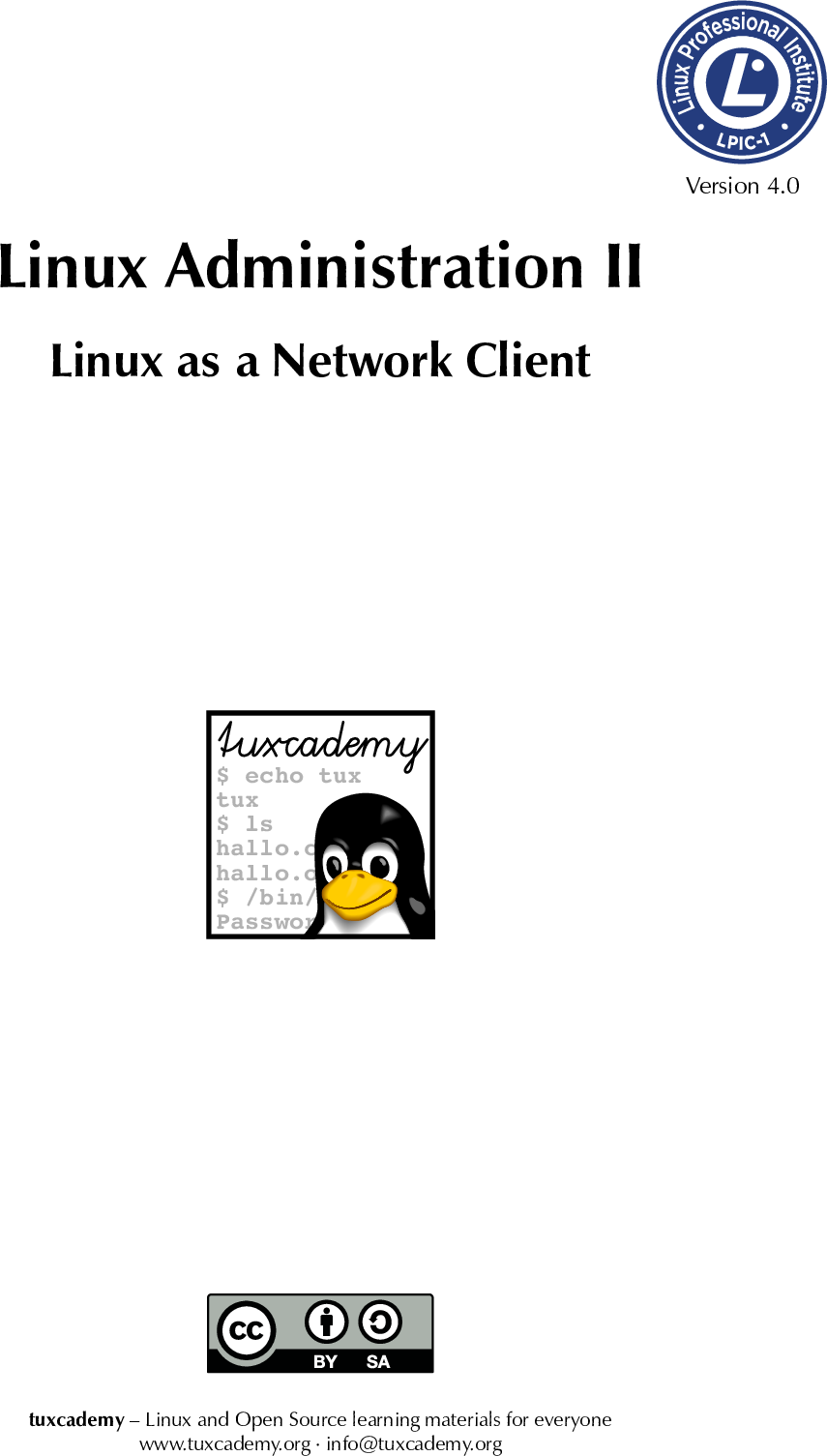 Linux Administration II//Linux As A Network Client Adm2 en manual