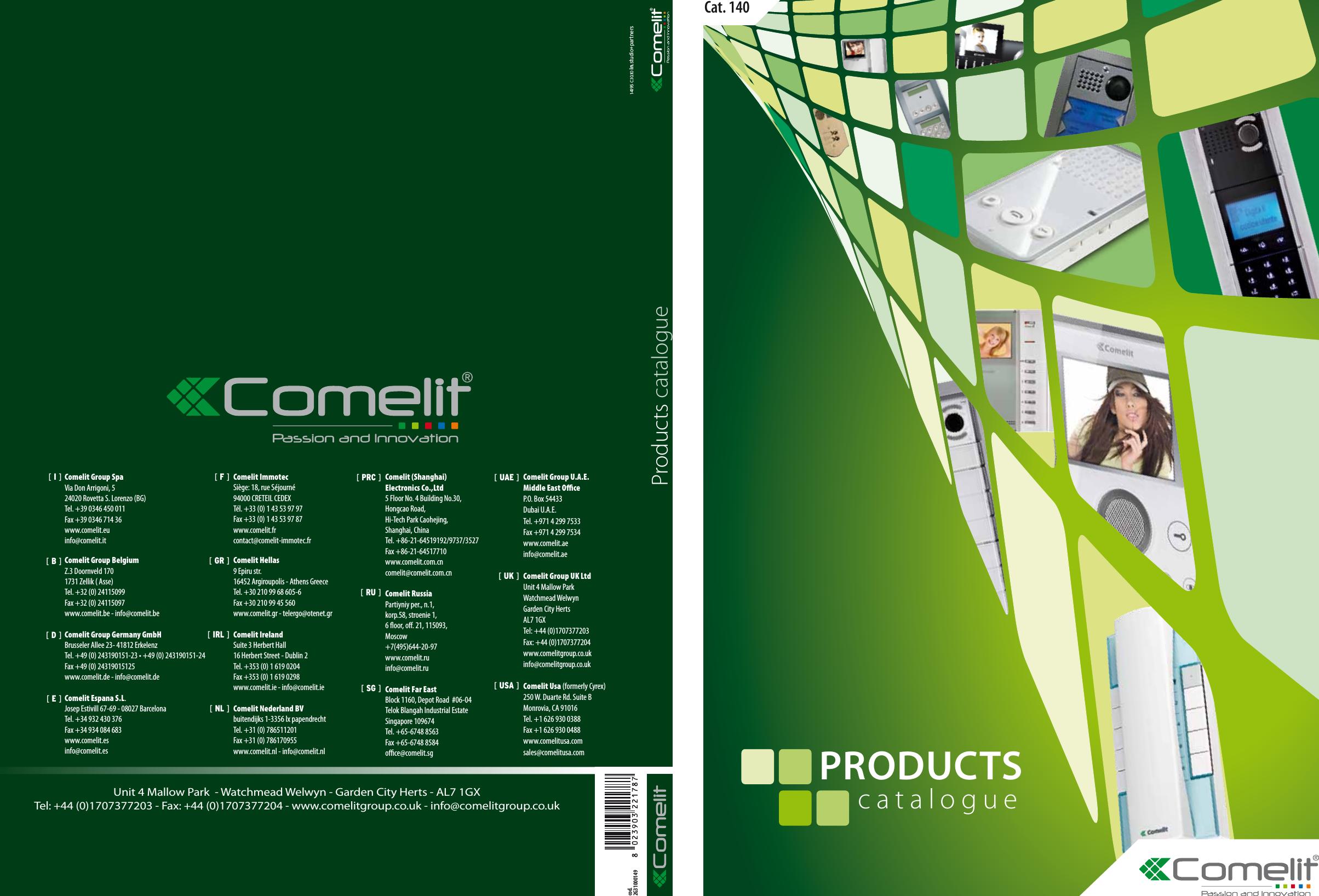 2602 COMELIT CITOFONO BASIC PER STYLEKIT 5