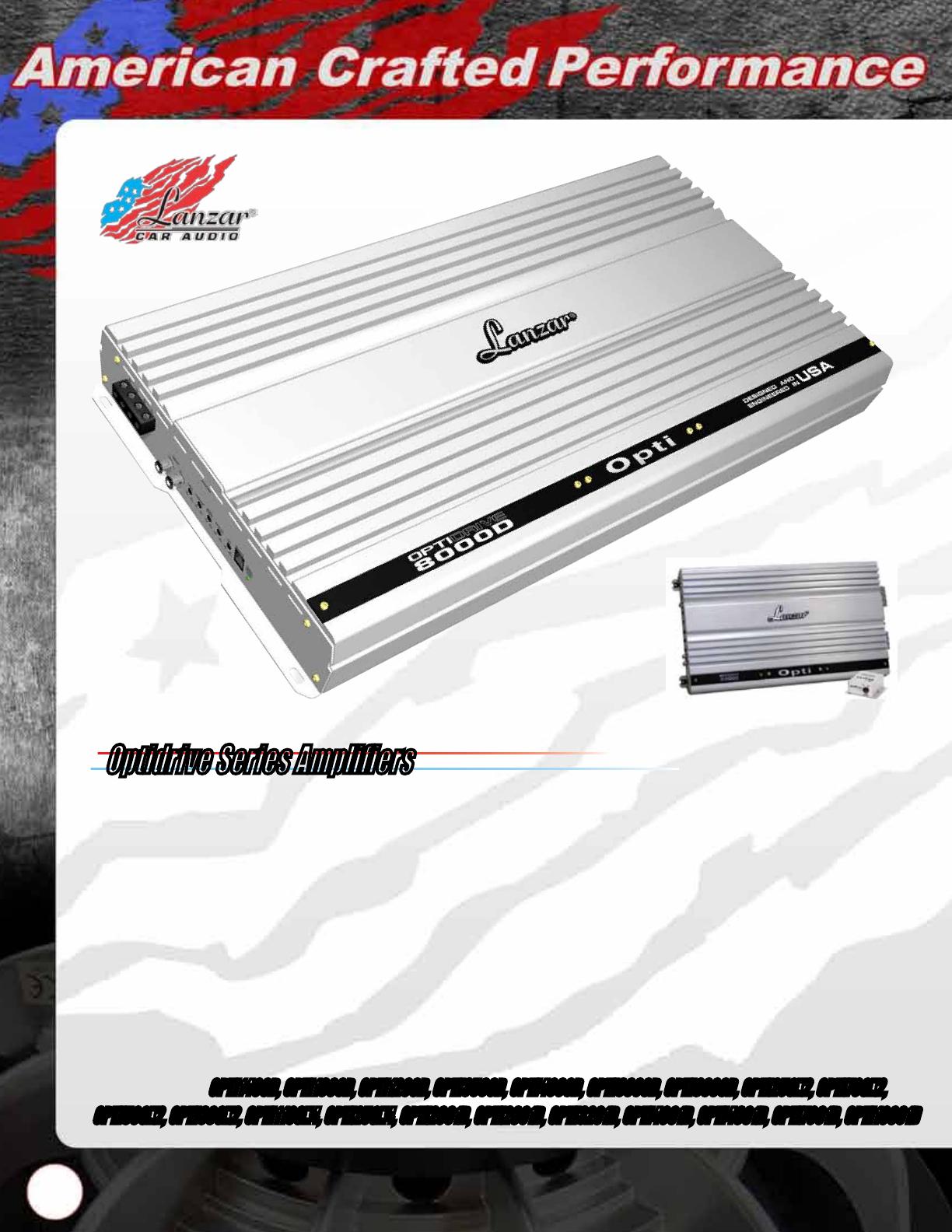 Lanzar Speakers Installation Instructions Max Mxa224 Catalog Ampkit4 4 Gauge Contaq Amplifier Wiring Kit Parts Opti8000d