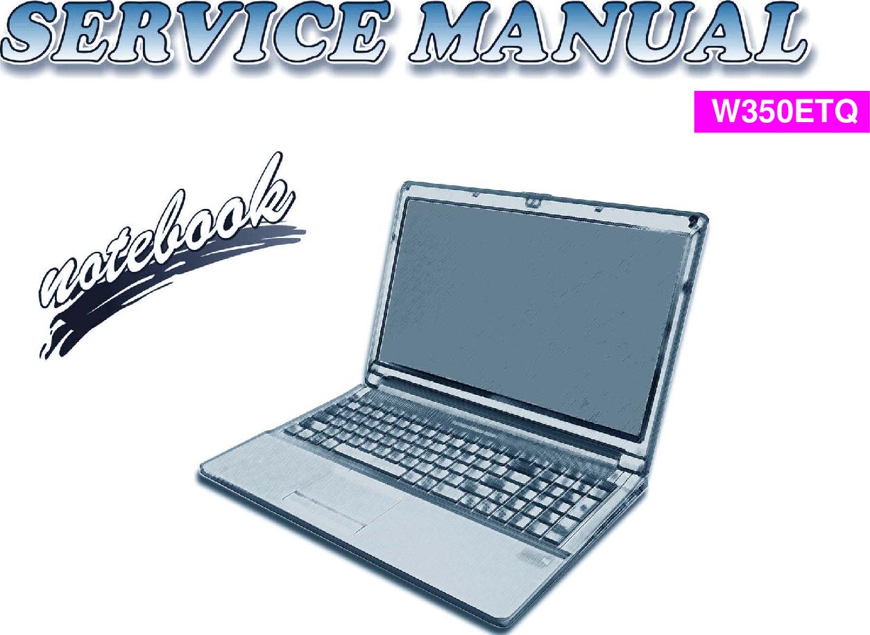 Clevo W350ETQ Service Manual  Www s manuals com  Manual