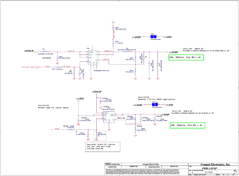 Compal LA 7531P Schematics  Www s manuals com  R0 1 Schematics