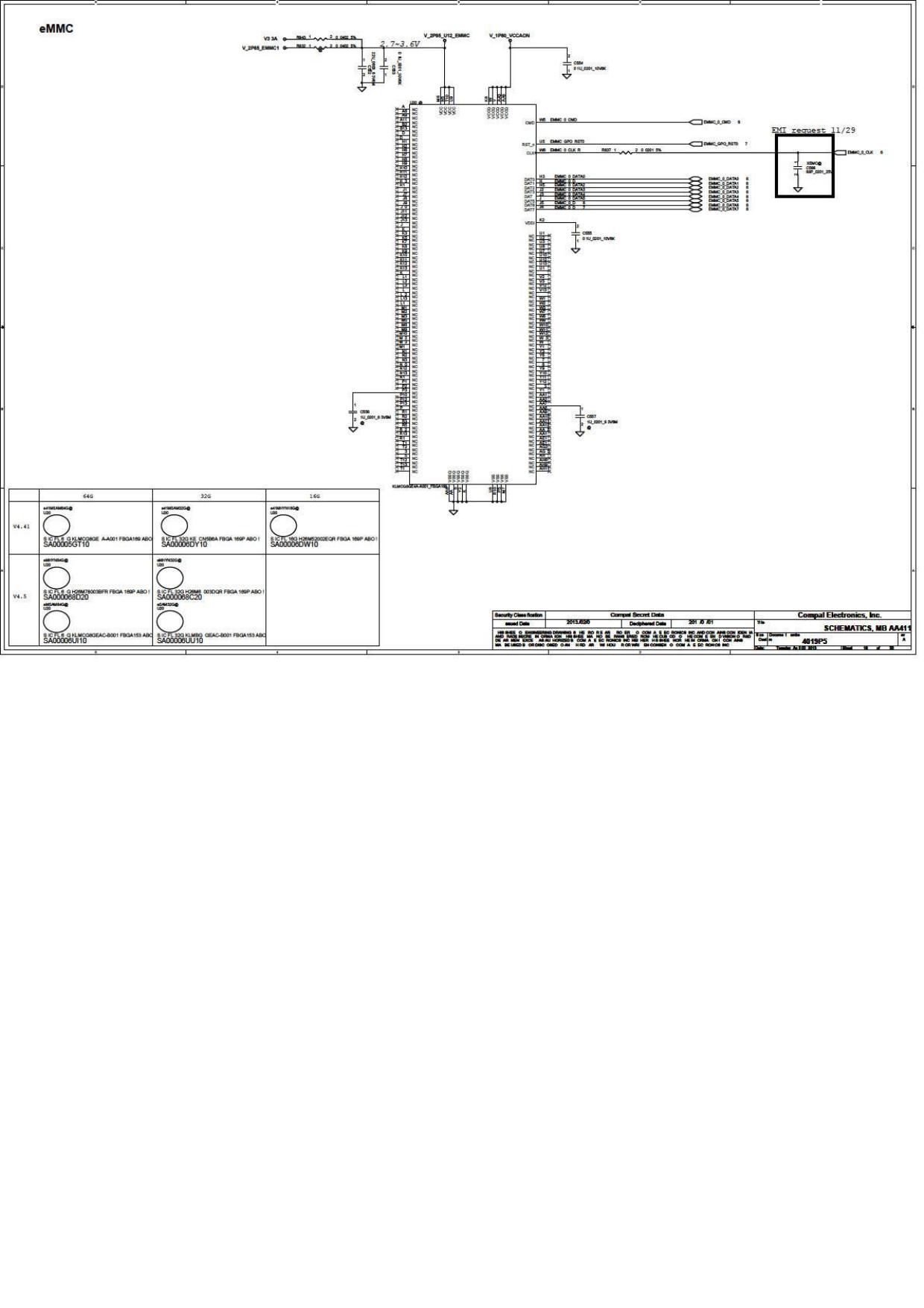 Compal LA A411P Schematics  Www s manuals com  R0 2 Schematics
