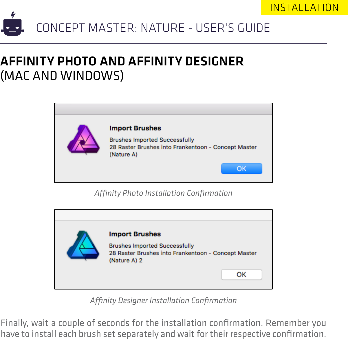 Concept Master Nature User's Guide users