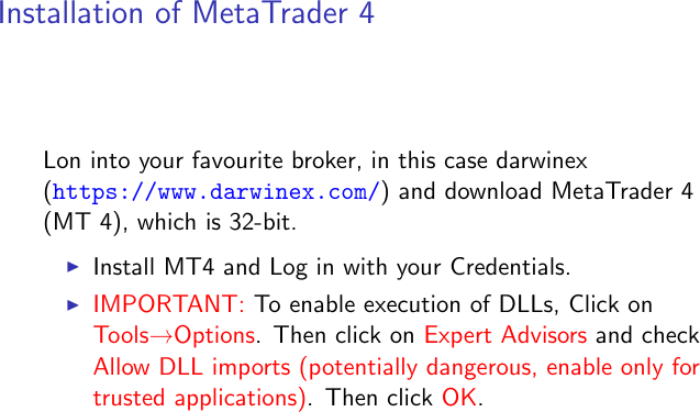 Installation And Setup Of ZeroMQ, MetaTrader 4, Python IDE