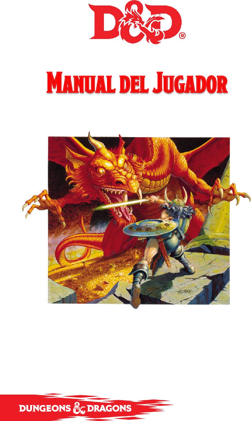 dca2d19c Manual Del Jugador D&D 5a Edición 5 esp