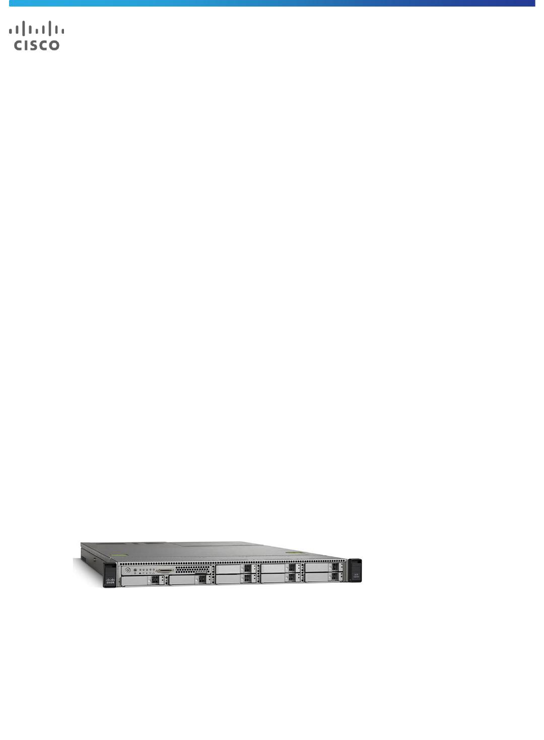 Cisco UCS C220 M3 Rack Server Data Sheet C78 700626