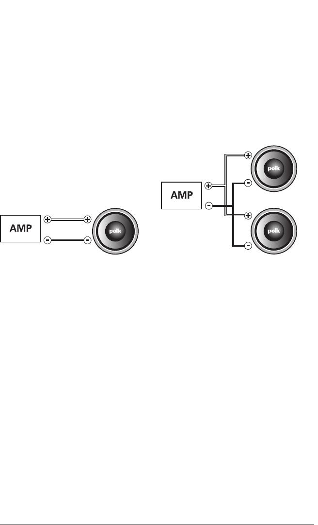 Polk Audio Subwoofers System Manual DB1040 Db1040dvc