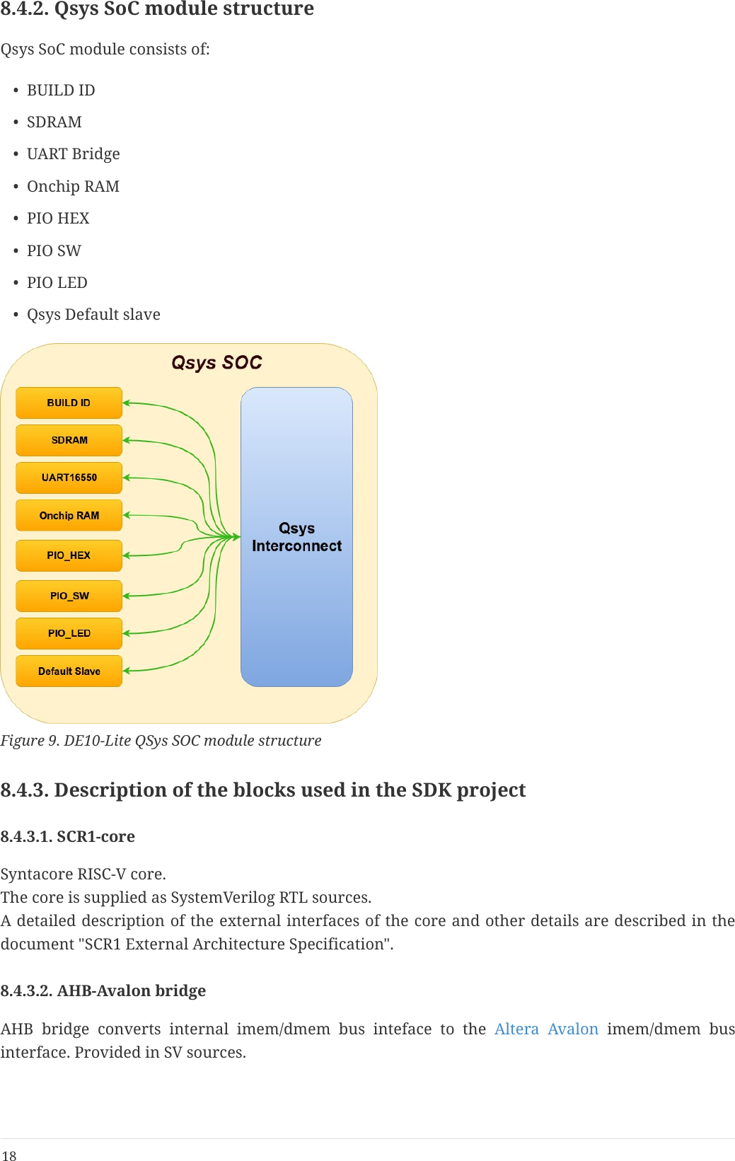 SCR1 SDK  Terasic DE10 Lite Edition  Quick Start Guide De10lite En