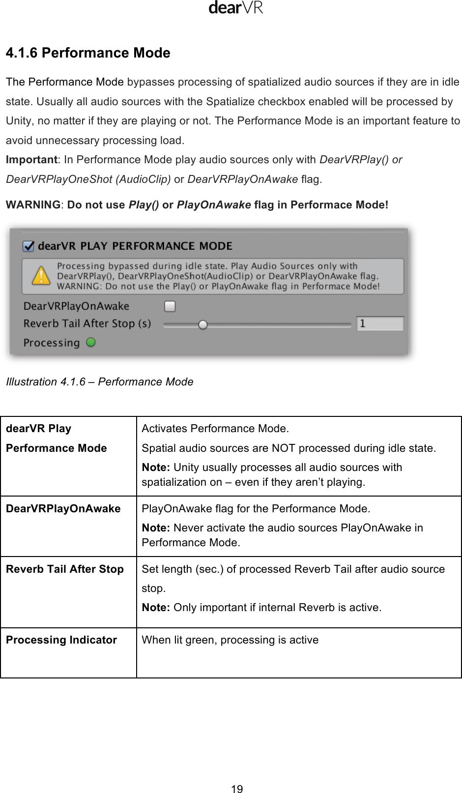 Dear VR User Manual