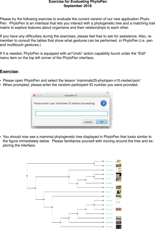 Exercise Instructions Phylopen Sept2018