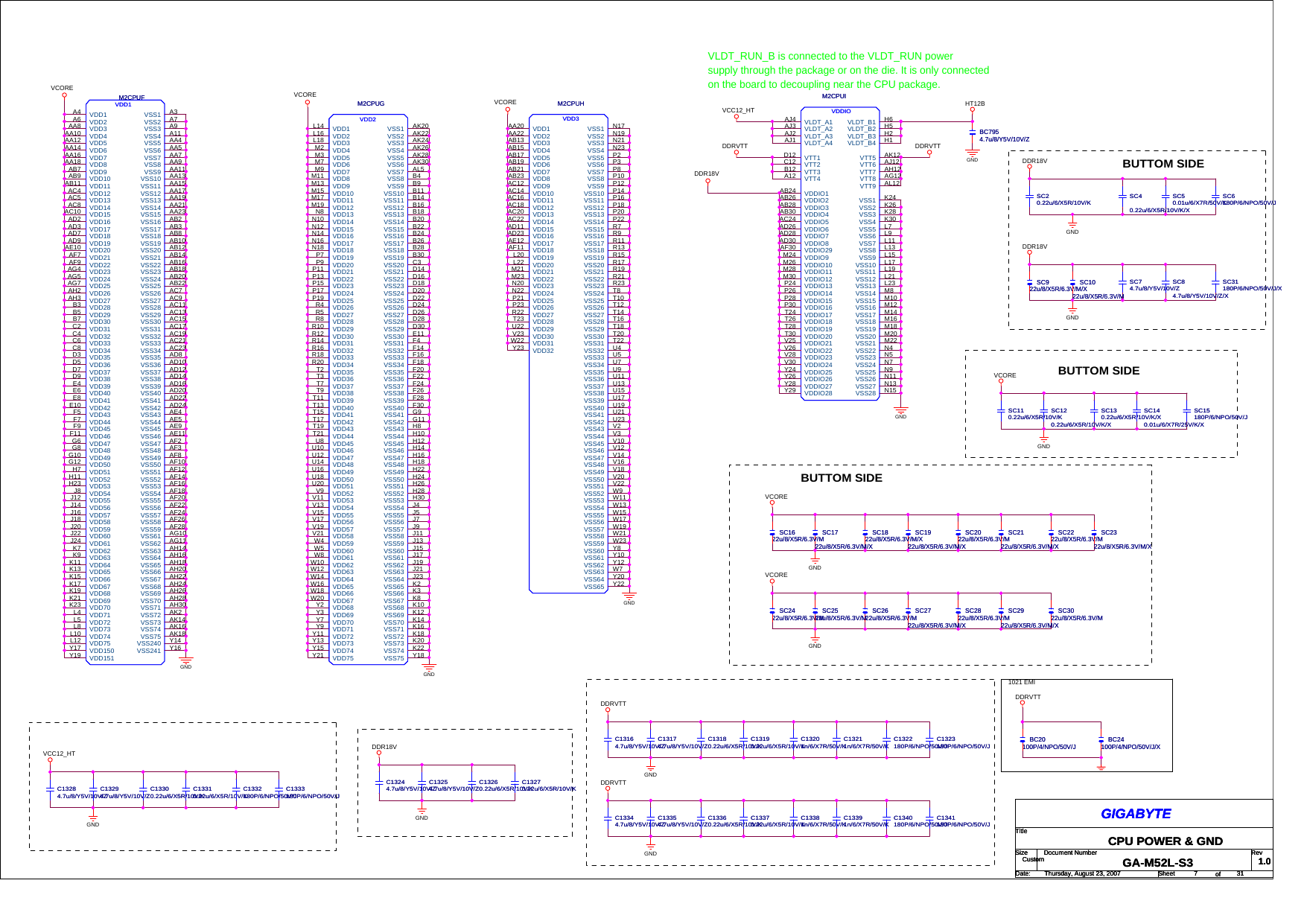 Gigabyte GA M52L S3 Schematics  Www s manuals com  R1 0 Schematics