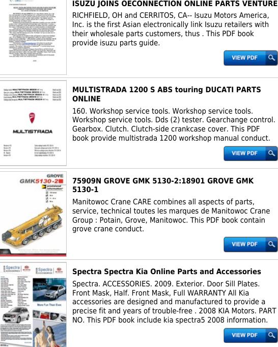 Grove Parts Online Productmanualguide com !!