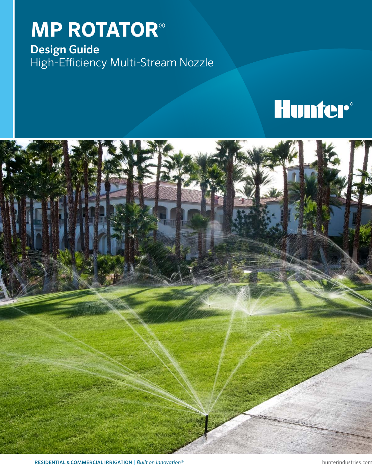 13-Feet to 21-Feet Radius and Adjustable from 210-Degree to 270-Degree HUNTER Sprinkler MP2000210 MP Rotator